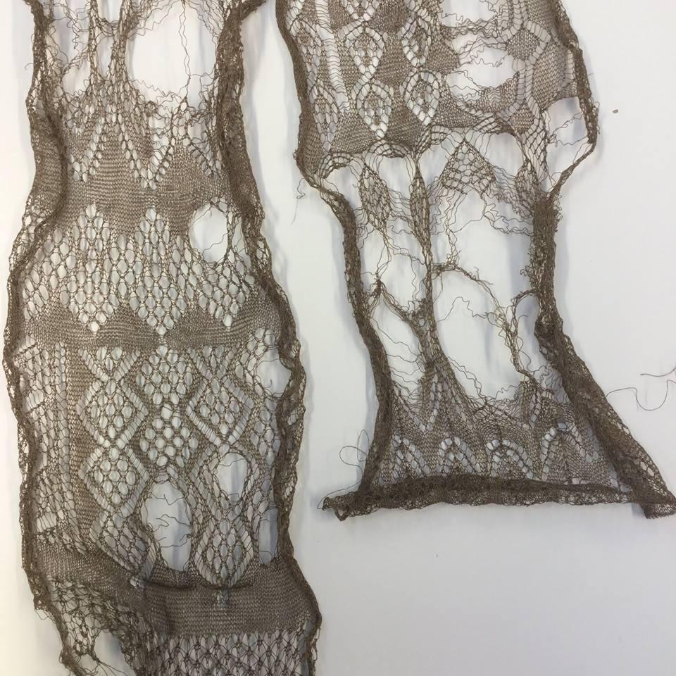 broken lace samples