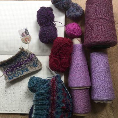 heather yarn