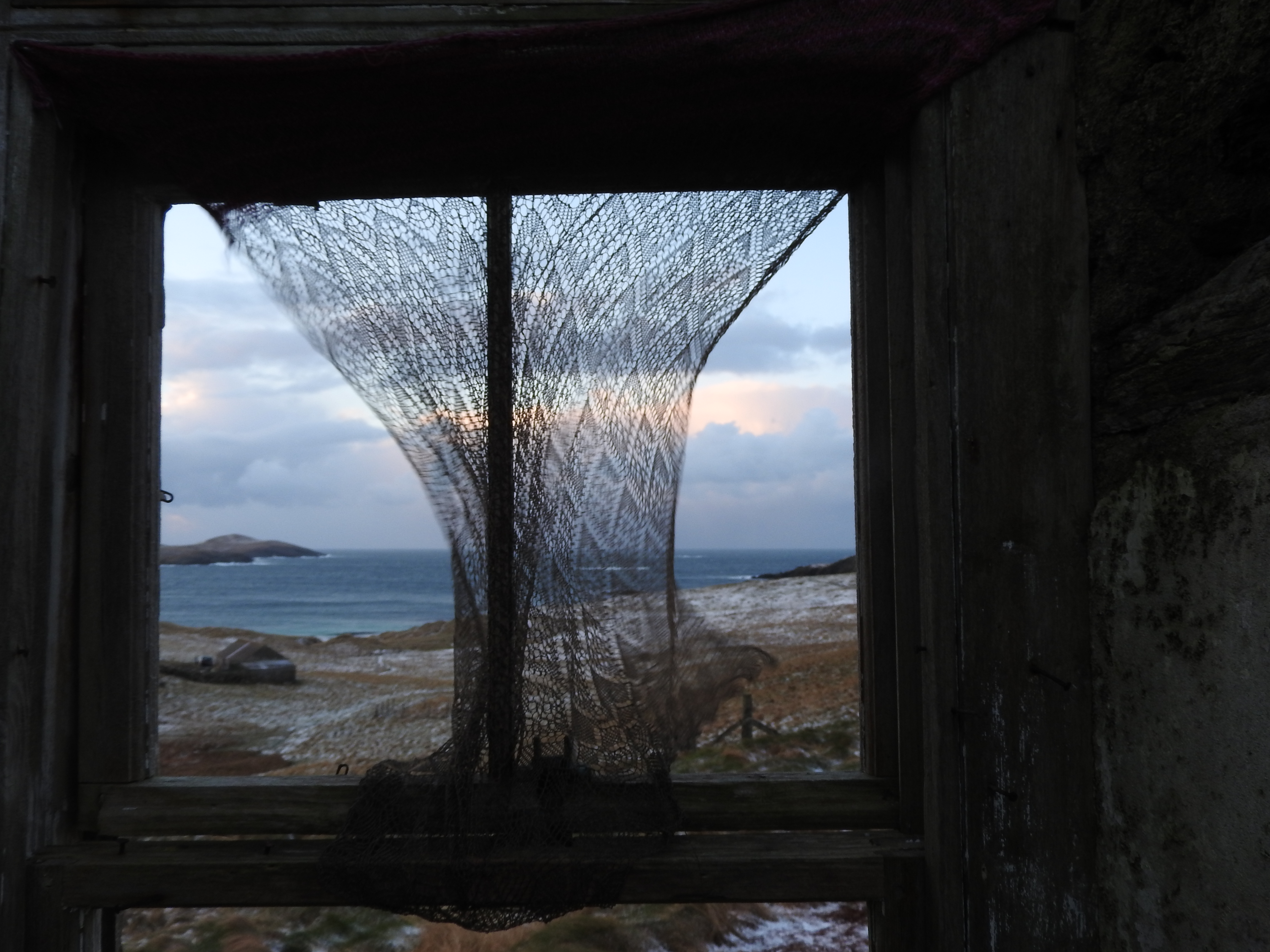 Tracey Doxey Bothy residency application Hamnavoe winter 2017